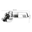 Bosch Professional Sarokcsiszoló