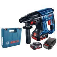 Bosch GBH 180-LI Akkus fúrókalapács 2 x 4.0Ah (0611911023)