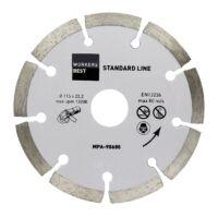 Gyémánt vágótárcsa 115 mm standard line