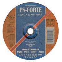 Pferd E 230 7 A 30 M PSF INOX Tisztítókorong