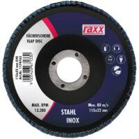 Raxx Legyezőtárcsa 115x22mm K100