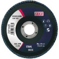 Raxx Legyezőtárcsa 125x22mm K80