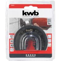 KWB csempevágó és fugatisztító félkör 87MM (709542)