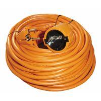 Hosszabbító kábel 20 m 3x1,5 mm narancs