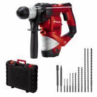 Einhell TC-RH 900 Kit Fúrókalapács + 12db-os Vésőkészlet 900 W, SDS-Plus, 3J (4258253)
