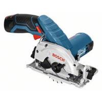 Bosch GKS 10,8 V-LI Akkus Körfűrész gyorstöltővel, 2 db akku-val L-BOXX-ban