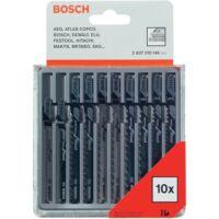 Bosch Szúrófűrészlap Fa Készlet 10 részes