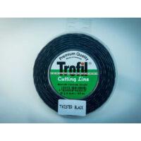 Trofil 2,4 mm 90m Twister Black Csendes Damil