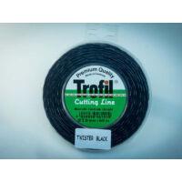 Trofil 3,0mm 60m Twister Black Csendes Damil