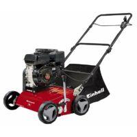 Einhell benzines gyeplazító GC-SC 2240 P (118cm3, 4 ütemű motor, 2,2kW teljesítmény, 40 cm munkaszélesség, 8 fokozatú munkamélység, 45l -es gyűjtótartály)