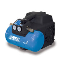 ABAC START O15 olajmentes kompresszor 6 l, 8 bar, 1,1 kW
