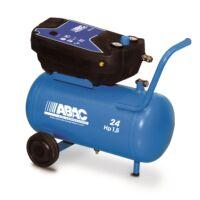 ABAC Pole Position O15 olajmentes kompresszor 24 l, 8 bar, 1,1 kW