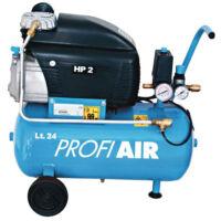 ProfiAir 250/8/24 Olajkenésű kompresszor 24l, 8 bar, 1,5 kW