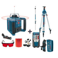 Bosch Forgólézer GRL 300 HV + BT300 HD + GR240 + RC1 (0601061501)
