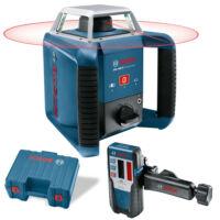 Bosch Forgólézer GRL 400 H + LR1 vevő Professional (0601061800)