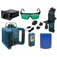Bosch GRL 300 HVG + LR1G + RC1 + MW4 Forgólézer csomag (zöld) (0601061701)
