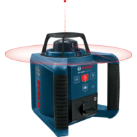 Bosch Forgólézer GRL 250 HV, 635 nm,<1 mW (0601061600)