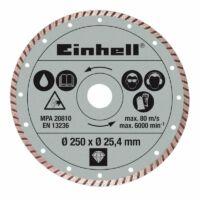 Einhell Gyémánt vágókorong 250 x 25,4 mm RT-SC 570 (4301177)