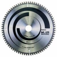Bosch 254/30/Z80 Multi Materiál Alu körfűrészlap (2608640450)