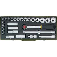 """Proxxon 23000 Dugókulcs készlet 29 részes 8-34mm ( 1/2"""" )"""