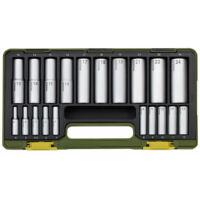 Proxxon 23292 20 részes Hosszú Dugókulcs készlet 4-24mm