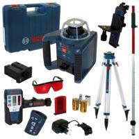 Bosch GRL 300 HV Set + BT170 HD + GR240 + LR1 Forgólézer csomag (061599403Y)