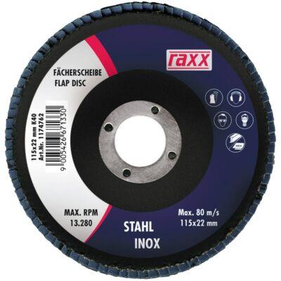 Raxx Legyezőtárcsa 115x22mm