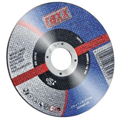 Raxx Vágókorong Inox 125*1,0 *22 23 mm
