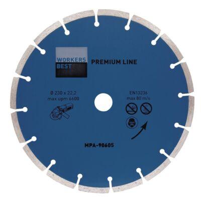 Gyémánt vágókorong Premium line 125mm