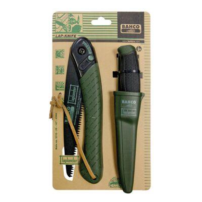 BAHCO Ágfűrész és kés készlet