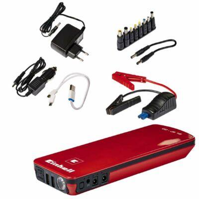 Einhell CC-JS 18 Jump Starter / Power Bank Hordozható indításrásegítő és akkumulátor