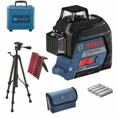 Bosch GLL 3-80 Prof. + BT150 vonallézer (06159940KD)