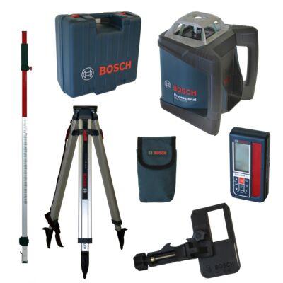 Bosch GRL 500HV + LR50 + BT170 + GR240 Forgólézer (06159940EF)